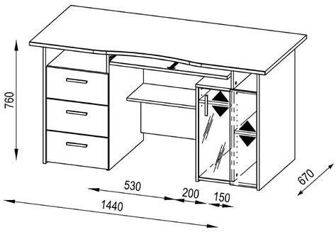 Computer Desk Measurements Maja Capital Oak Computer Desk
