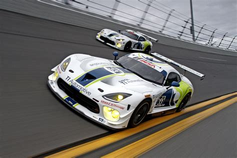 Dodge Racing Cars by Ti Automotive To Sponsor Dodge Viper Gt3 R Race Cars In