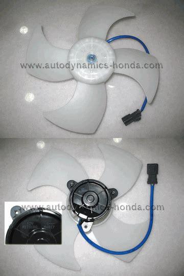 Motor Fan Radiator Honda Freed Mitsuba honda p08 radiator fan motor mitsuba