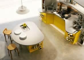 round kitchen island interior design ideas