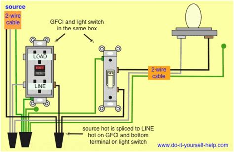 ground fault circuit interrupter wiring diagram php