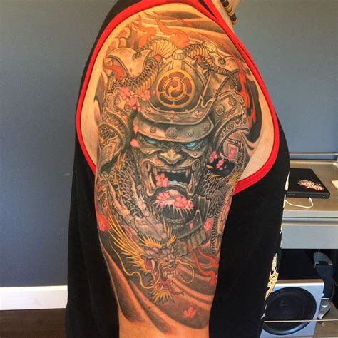 samurai mask tattoo 75 best japanese samurai designs meanings 2018