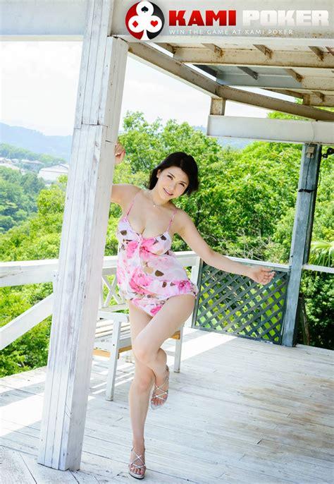 anri okita floral pink dress gallery kamipoker