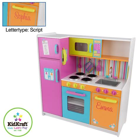 kidkraft cuisine cagnarde 53222 kidkraft luxe keuken in felle kleuren kopen qiddie