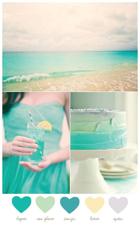 turquoise and yellow turquoise and yellow wedding colors 01 outdoor weddings