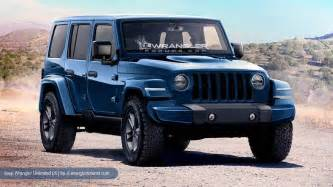 Jeep Jk News The 2018 Jeep Wrangler Will Look The Same But Different