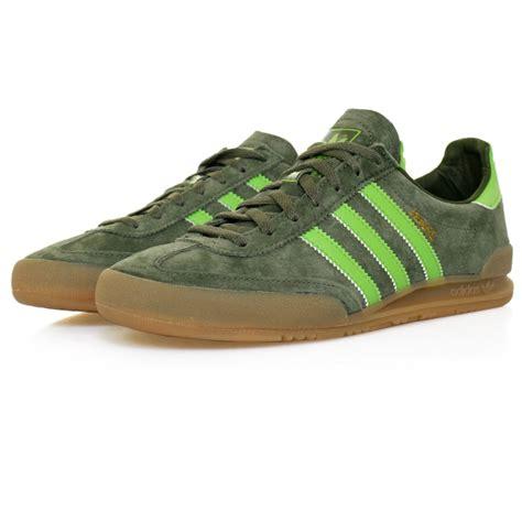 adidas originals green suede shoe