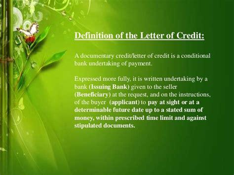Islamic Letter Of Credit islamic letter of credit