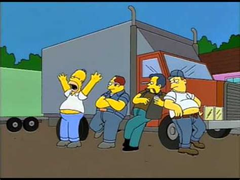 The Teamster i always wanted to be a teamster the simpsons