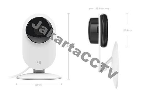 Xiaomi Xiao Yi Home Smart Cctv Internasional Version Murah jual xiaomi xiaoyi smart cctv home black kamera