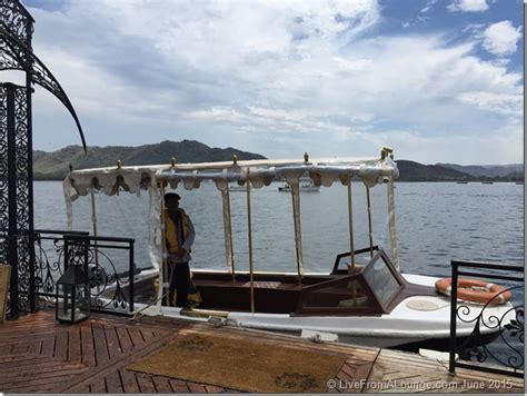 speed boat udaipur hotel review taj lake palace udaipur live from a lounge