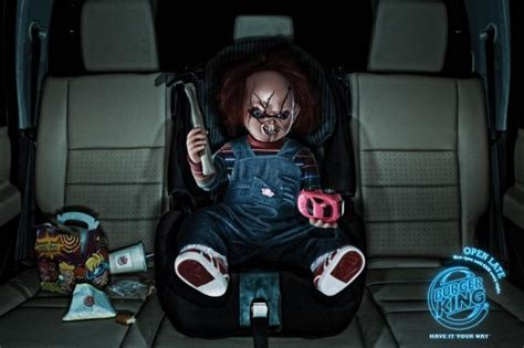horror movie killers images chucky got a kidsmeal