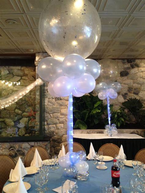 Easy Last Minute Decor Balloon Ceiling by Balloon Centerpiece Balloon Decorations