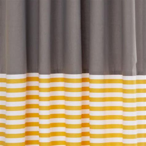 curtains blue stripe grey window curtains the land of nod