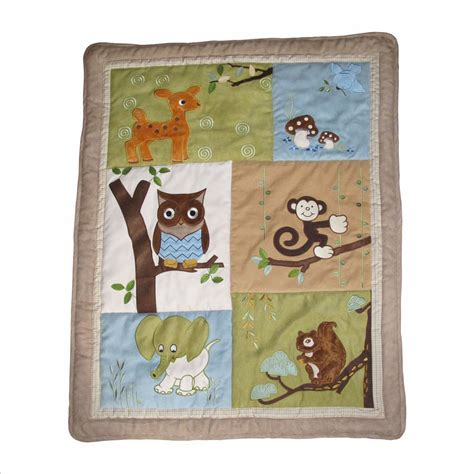 Woodland Friends Crib Bedding by Baby Boutique Forest Friends 15 Pcs Nursery Crib