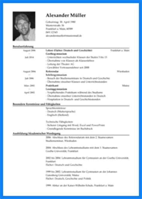 Lebenslauf Vorlage Lehrer Lebenslauf Lehrer Invitation Templated