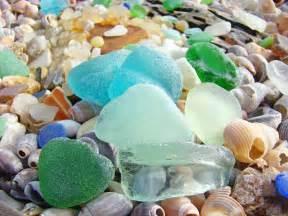 sea glass beach blue green sea glass beach coastal seaglass photograph by