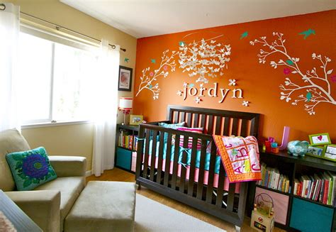 orange room ideas color psychology for nursery rooms learn how color