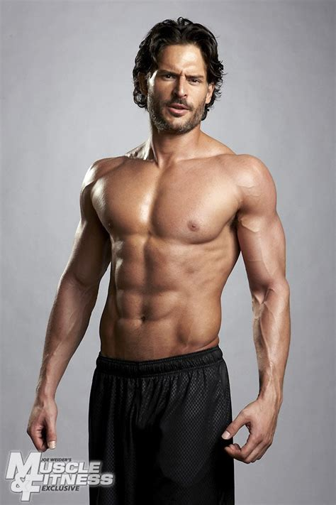 muscle and fitness joe manganiello for muscle fitness male celeb news