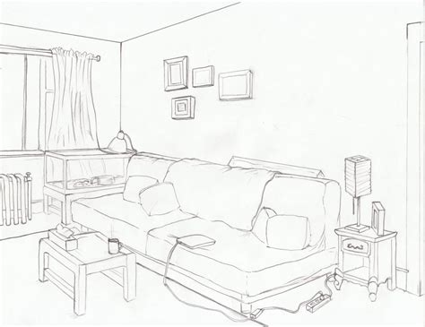 living room drawing living room layout by ayami on deviantart