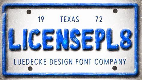dafont license license pl8 font dafont com