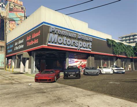 potoh motor premium deluxe motorsport car dealer sell cars gta5