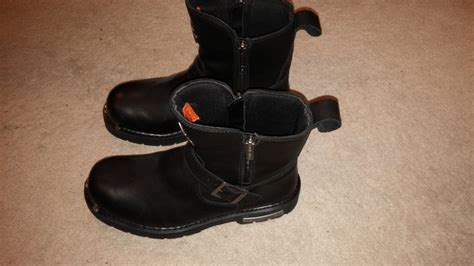 mens leather motorcycle boots for sale harley davidson s startex black leather motorcycle