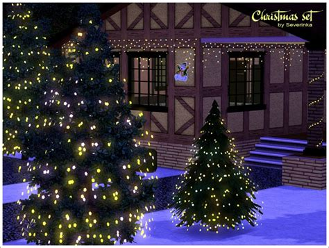 christmas decorations on sims 3 empire sims 3 decor set by severinka
