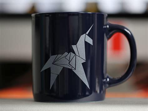 Origami Coffee Mug - origami unicorn mug last exit to nowhere