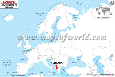 where is albania on the map albania on world map onlineshoesnike