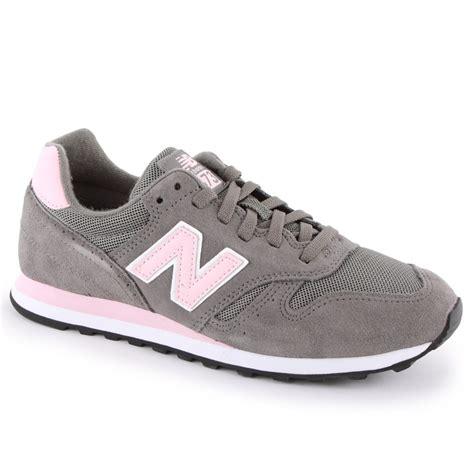 grey and pink new balance sneakers new balance 373 womens trainers in grey pink