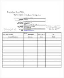 Excel Forms Template by Excel Order Form Template 8 Free Excel Documents