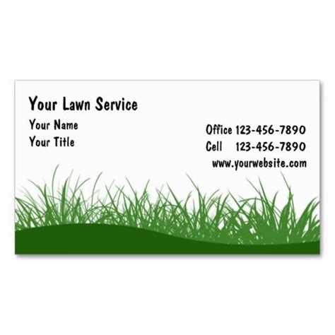 lawn care business card templates 10 images about lawn care business cards on