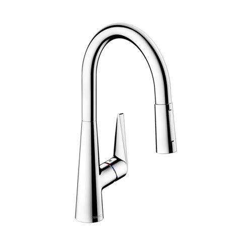 hansgrohe talis s kitchen faucet hansgrohe 72813 talis s 2 spray higharc pull down kitchen