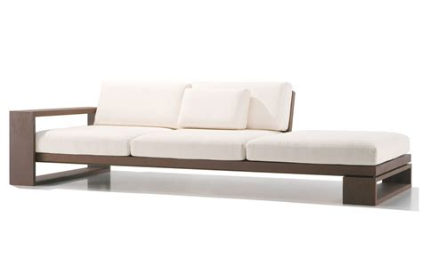 modern wood sofa modern and contemporary sofas loveseats wood sofas and