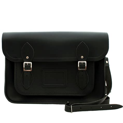 Bag Black the cambridge satchel company leather satchel bag black 13inch pink orchard luxury brands