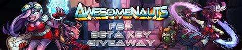 Awesomenauts Beta Key Giveaway - awesomenauts free to play beta key giveaway free online mmorpg and mmo games list