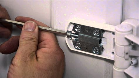 how to a door how to adjust hinge and keeps on a upvc door
