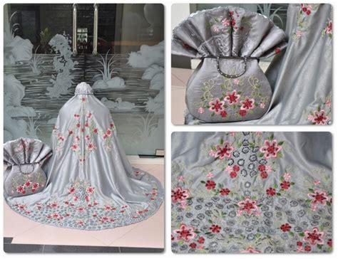 Dijual Mukena Spandek Brukat Abu Murah jual mukena dewasa tas behel bintang motif cantik harga murah