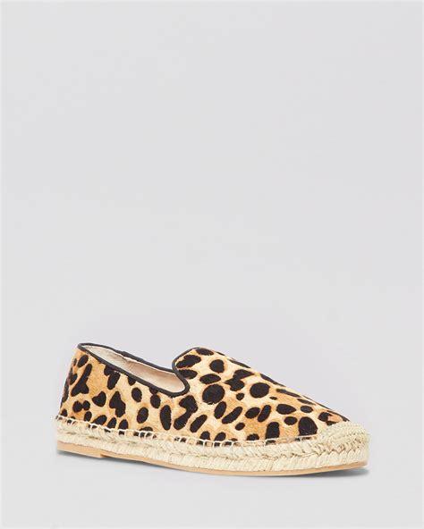 Steve Madden Leopard Flats by Steven By Steve Madden Espadrille Flats Leopard Shoe Bloomingdale S