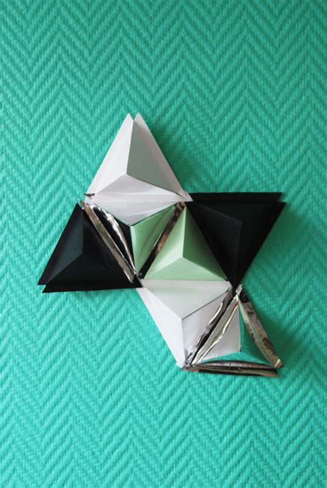 Origami Triangle Pieces - laure devenelle designer papier sc 233 nographe origamiste