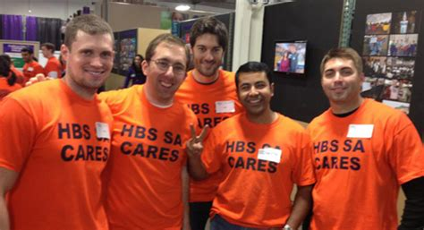 Harvard Mba Student Organizations by Harvard Business School Students Give Back Through Student