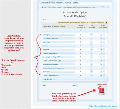 bid bid cleanguidepro 183 janitorial bidding software 183 janitorial