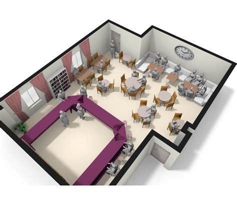 Floor Plan In Sketchup Pro Planner Pub Stuff Design Service Pub Stuff Layout