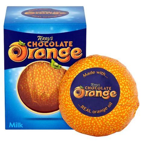 orange chocolate terry s chocolate orange milk chocolate box 157g