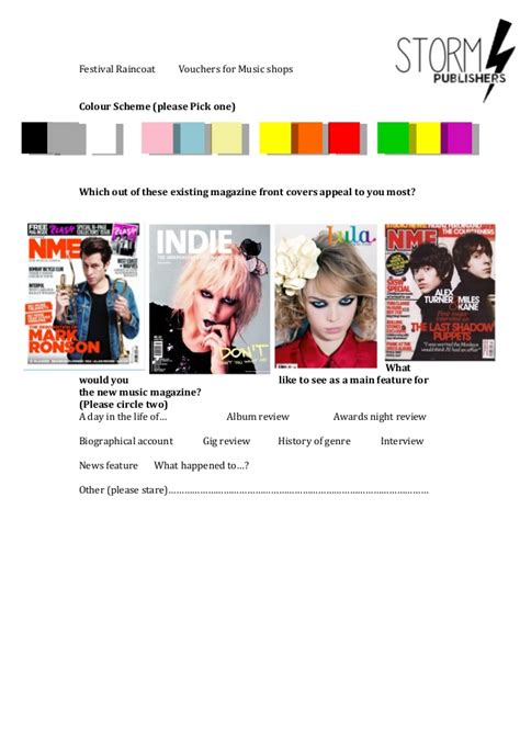 what happened to stare magazine main task questionnaire