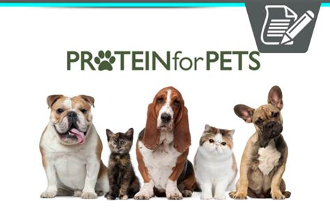 Make Money Selling Pet Products Online - protein for pets ambassador review make money help cats dogs