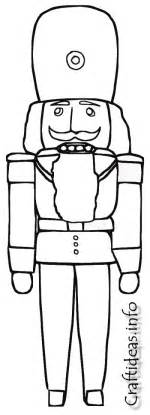 nutcracker template 14 nutcracker coloring pages print color craft