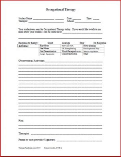 Documentation Forms Therapy Fun Zone Counseling Documentation Template