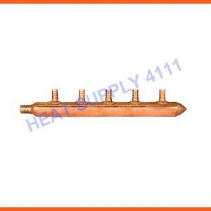 Copper Manifold Plumbing by 5 1 2 Quot Pex Plumbing Manifold Copper By Sioux Chief